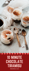 10 minute tiramisu recipe pinterest