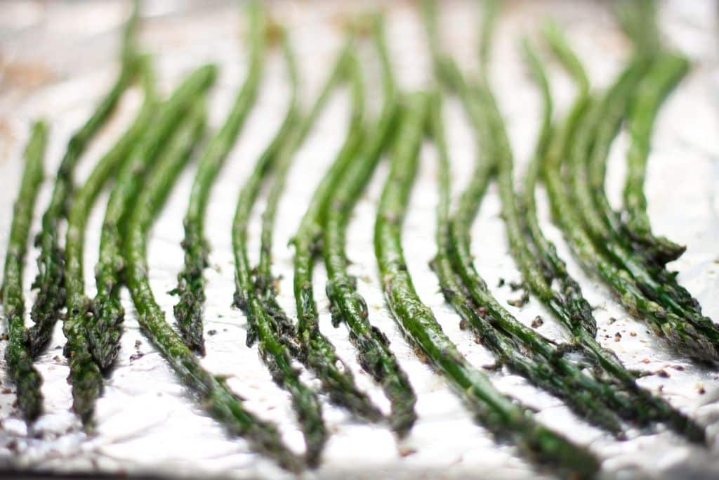 foil wrapped asparagus recipe