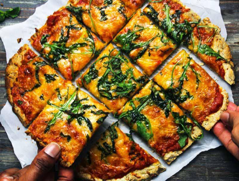 20-MINUTE FLATBREAD THIN CRUST PIZZA DOUGH