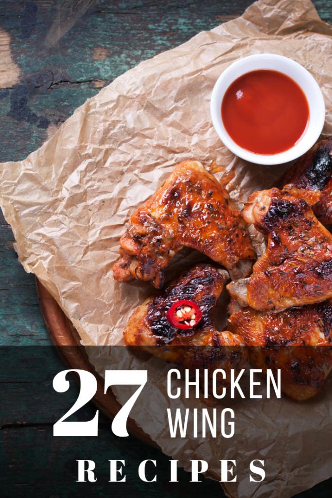 27 Chicken Wing Recipes pinterest