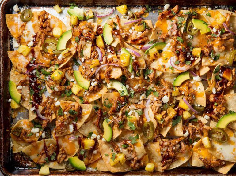 Best BBQ Chicken Nachos Recipe