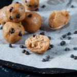 Chocolate Chip Cookie Dough Protein Balls pinterest