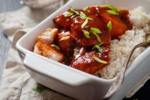 One Pot Orange Chicken Recipe