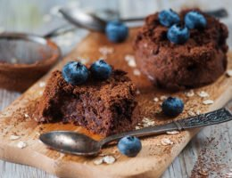 Protein Chocolate Molten Lava Cake recipe