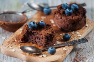 Protein Chocolate Molten Lava Cake recipe