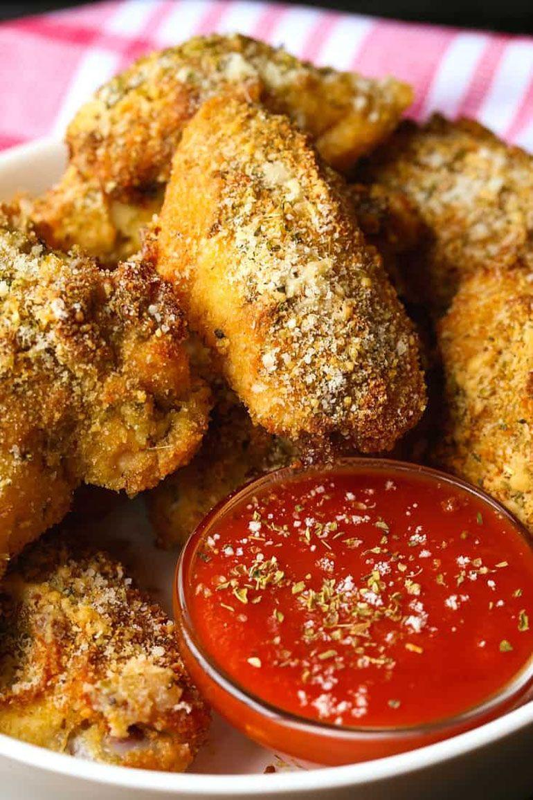 Chicken Parmesan Chicken Wings