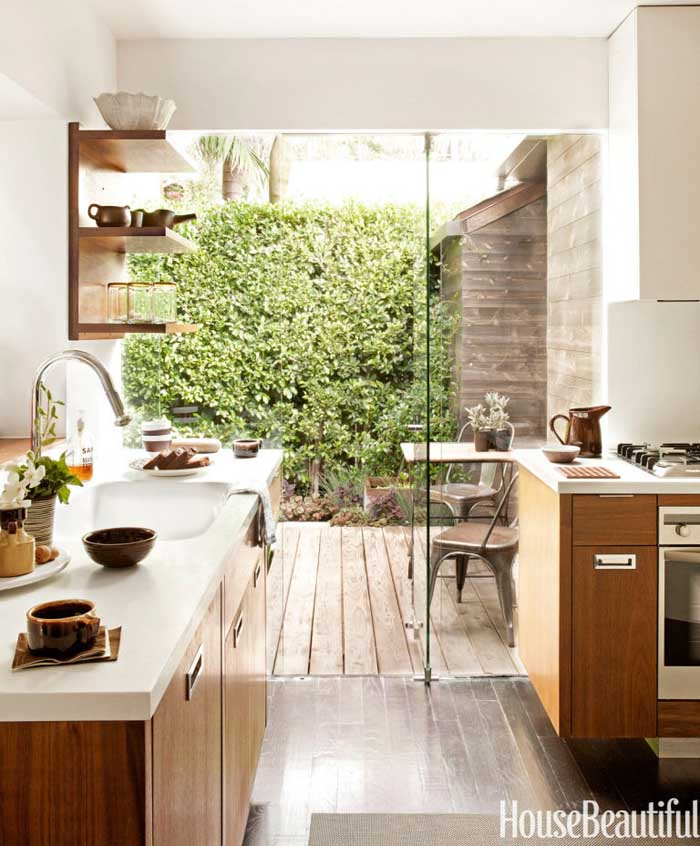 large kitchen windows