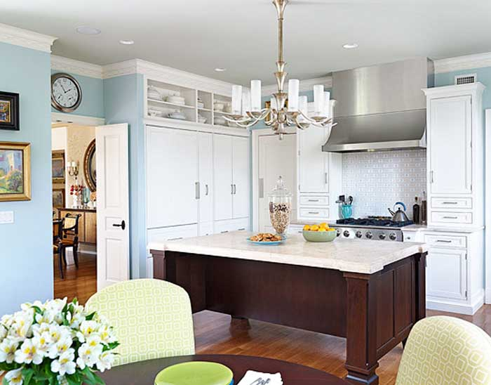 The Open and Airy Kitchen