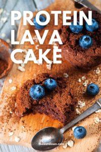 protein lava cake pinterest