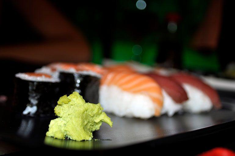 wasabi for dijon mustard