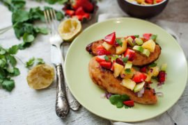 Grilled Honey Lime Chicken With Pineapple Salsa Recipe