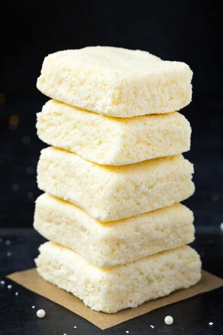 Easy 3 Ingredient Keto Coconut Crack Bars