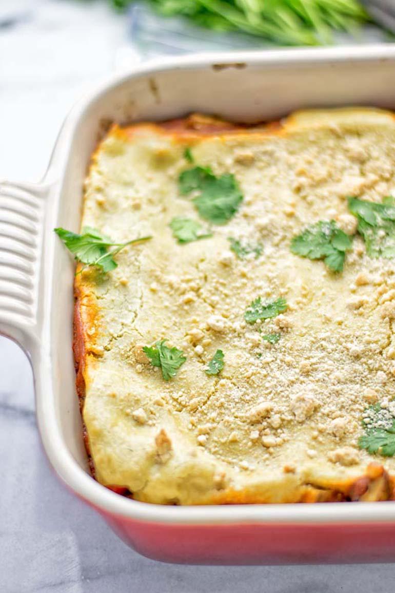 7 Enchilada Lasagna