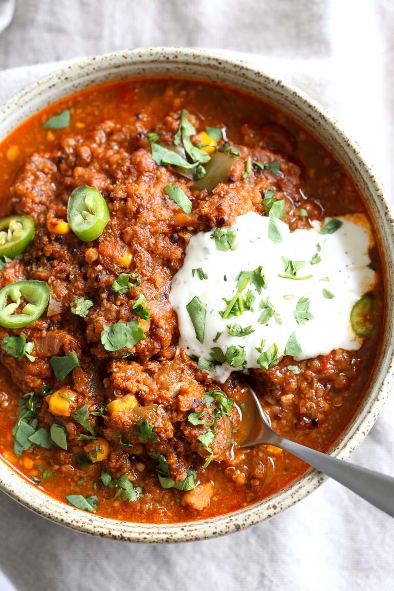 8 Instant Pot Vegan Enchilada Soup