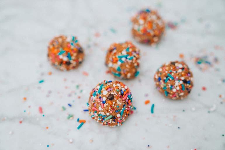 Funfetti Protein Balls