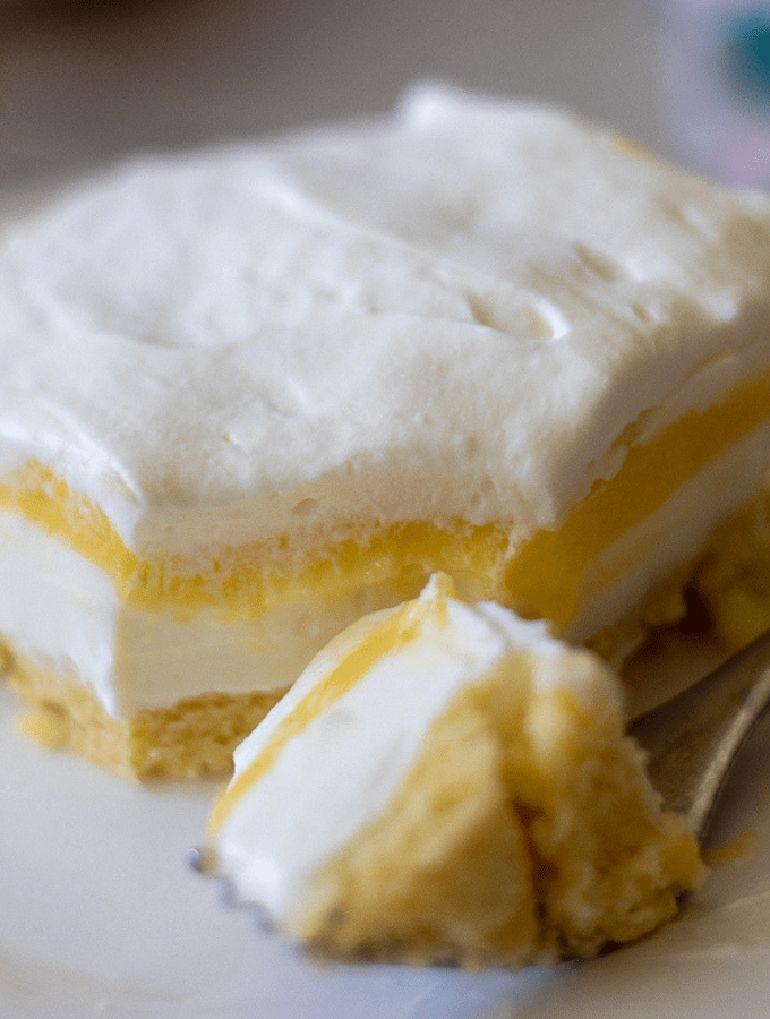 Keto Lemon Lush Dessert