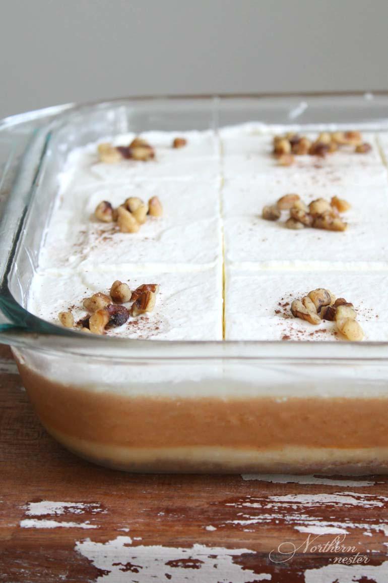 Low Carb Layered Pumpkin Dessert