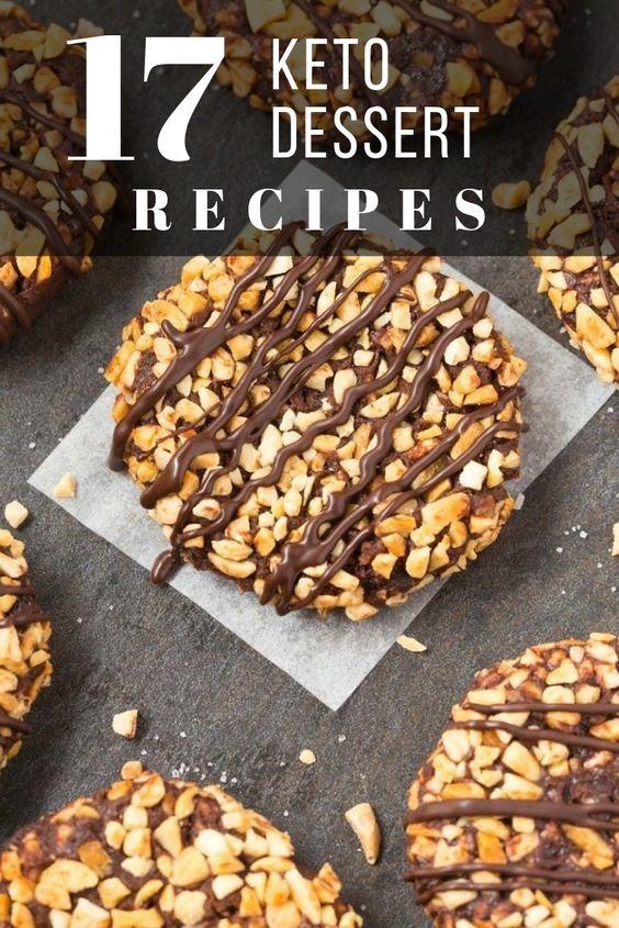 best keto dessert recipes pinterest