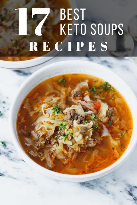 best keto soup recipes pinterest