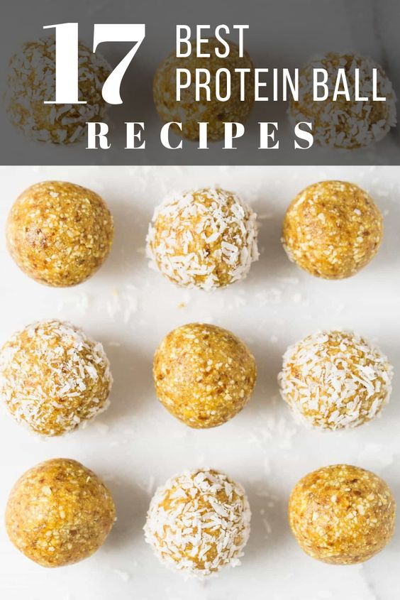 best protein ball recipes pinterest