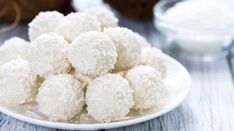 F45 Vanilla hemp seed protein balls