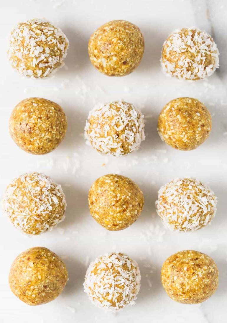 Mango Coconut Energy Balls