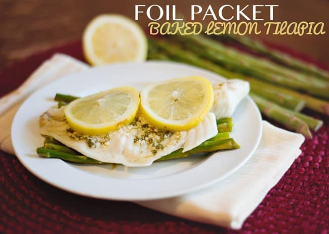 Bake Lemon Tilapia