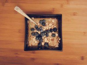 flaxseed blueberry oatmeal recipe