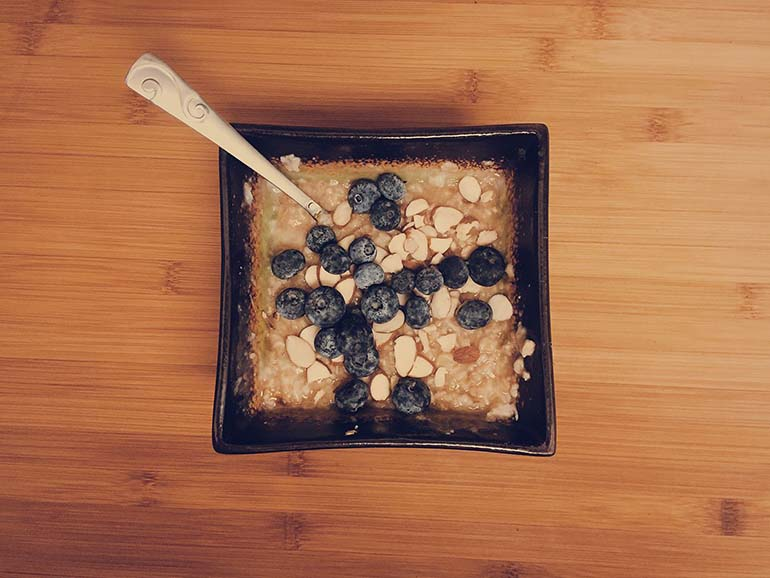 flaxseed blueberry oatmeal recipe