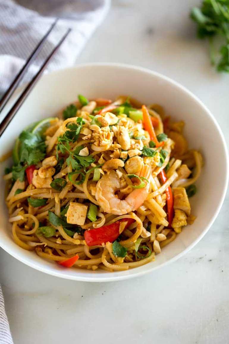 Shrimp & Tofu Pad Tai