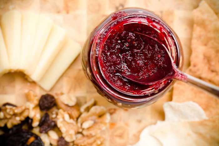 Ten Minute Tart Cranberry Jam