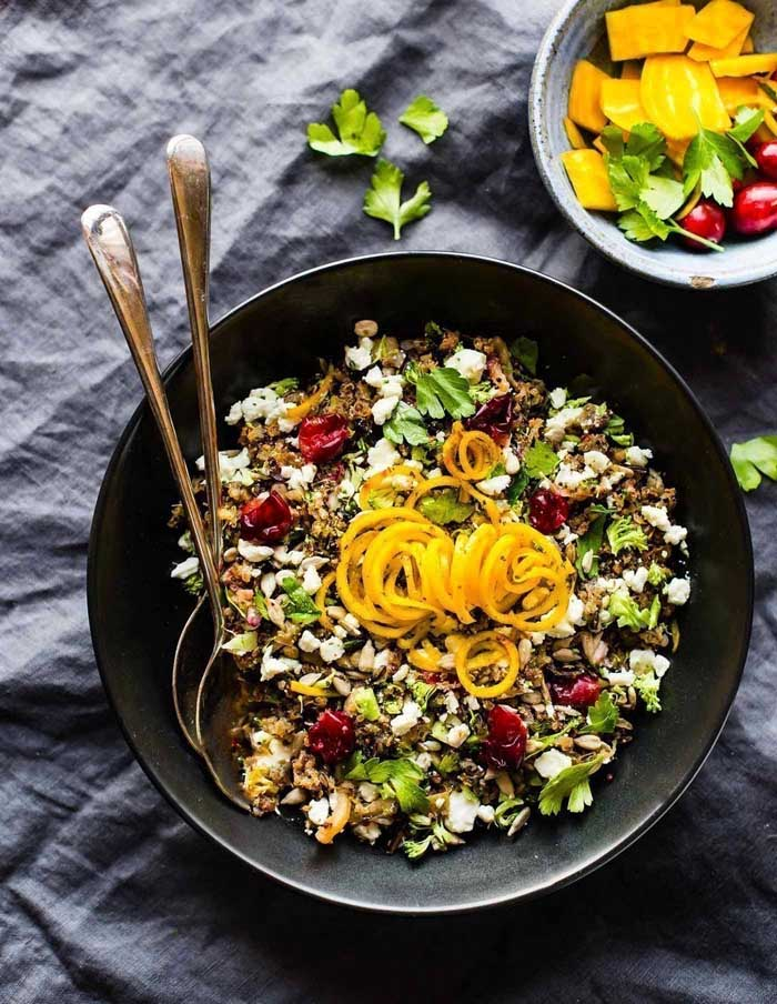 Wild Rice Pilaf with Fresh Cranberries