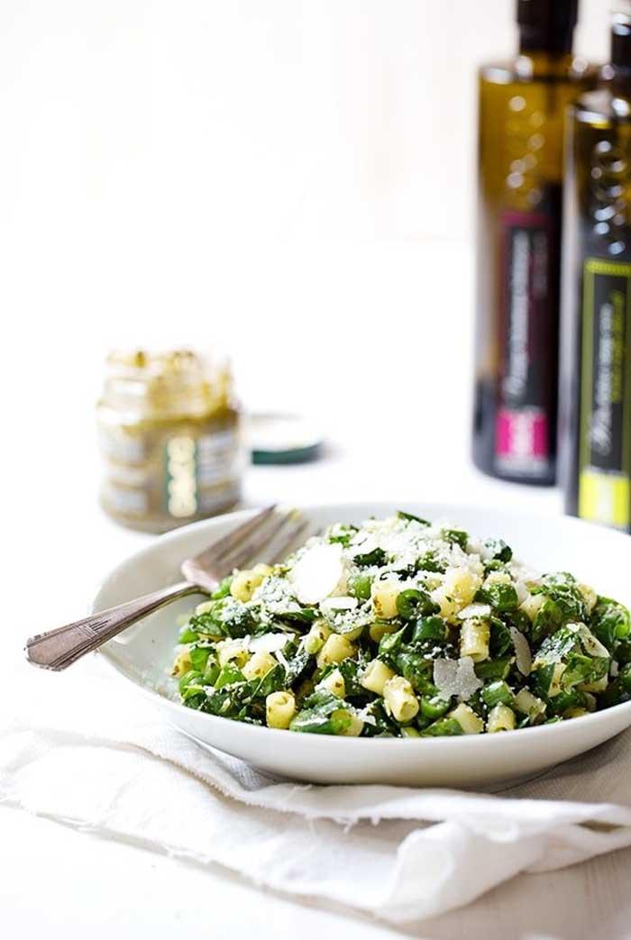 Simple Green Pasta Salad