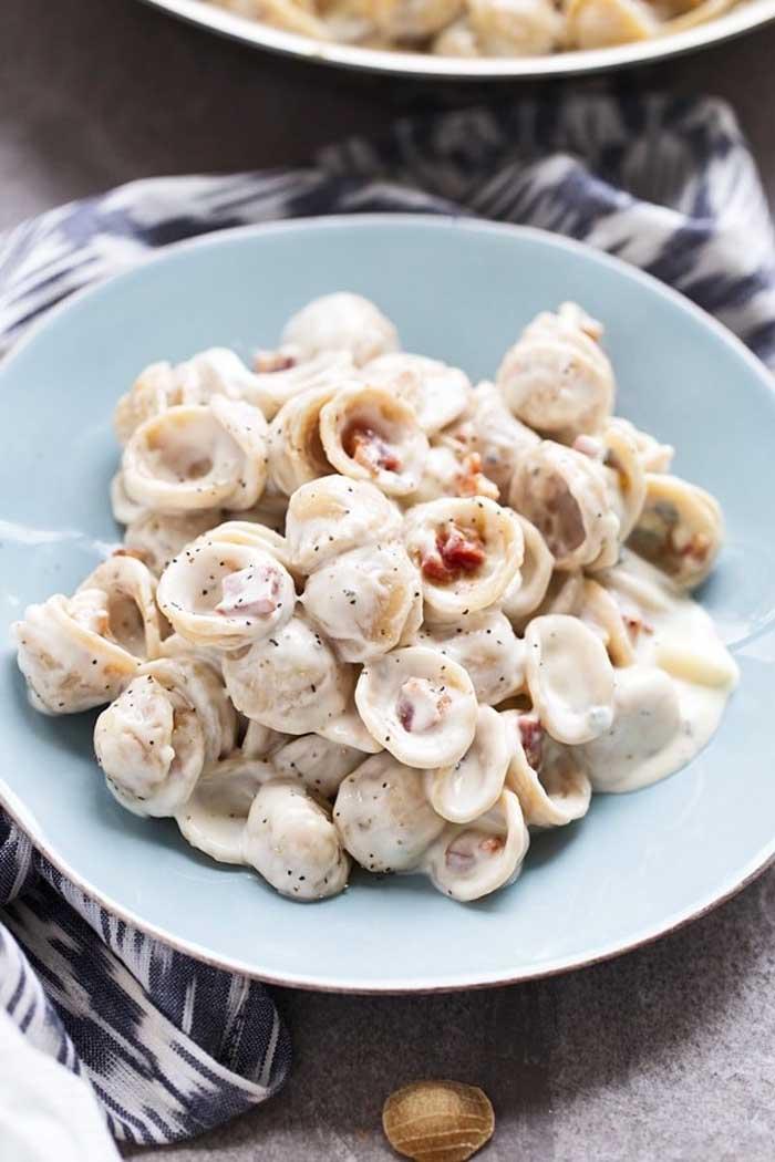 Creamy Gorgonzola Orecchiette
