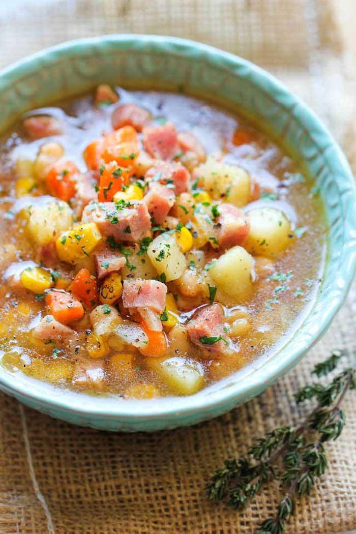 Hearty Hambone Soup