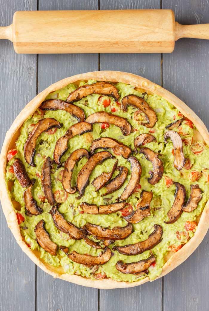 Guacamole Pizza