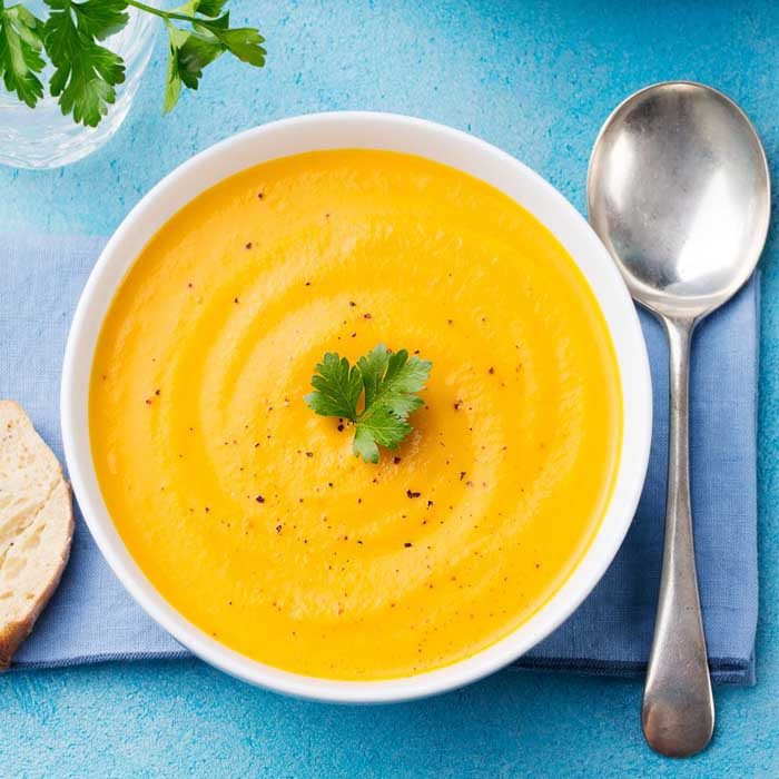 easy pumpkin and carrot soup recipe