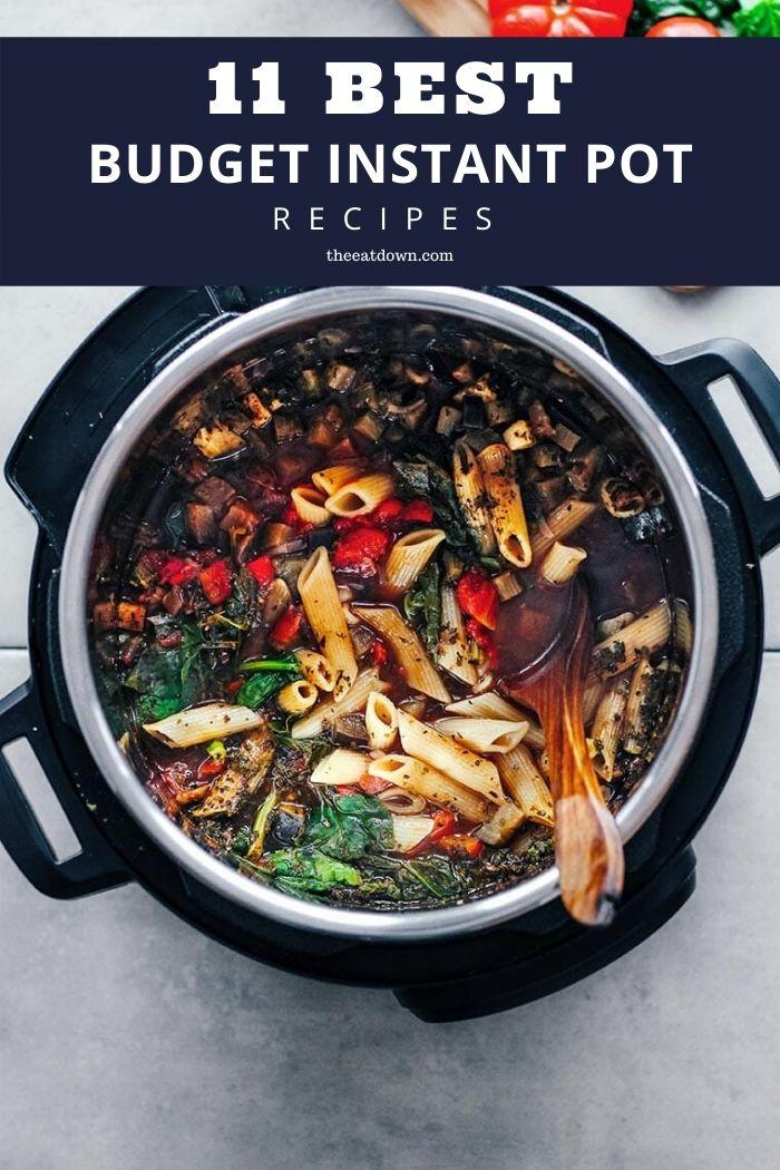 Best Budget Instant Pot Recipes