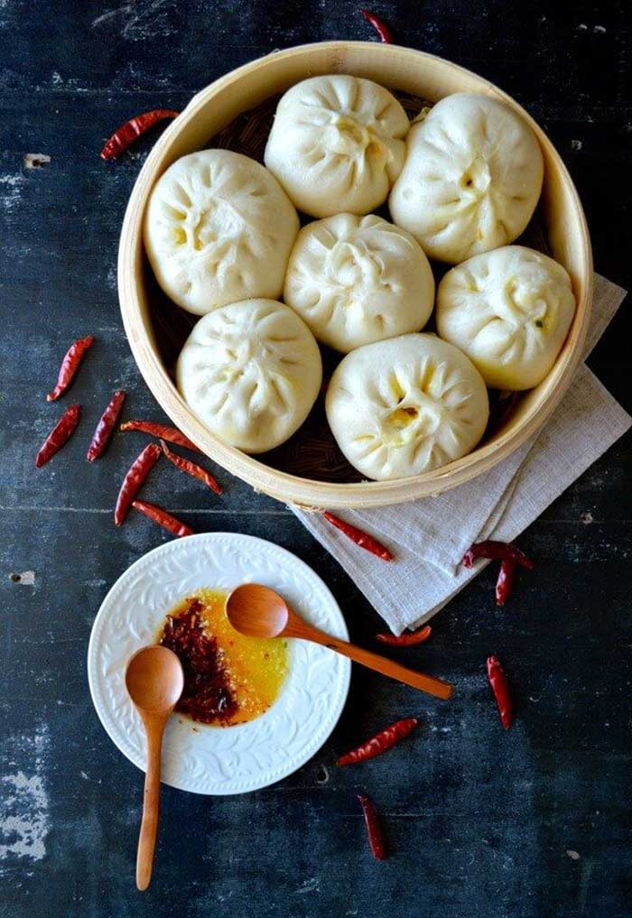 Carrot Ginger Pork Baozi
