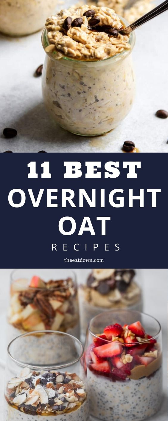 Best Overnight Oats Recipes Pinterest