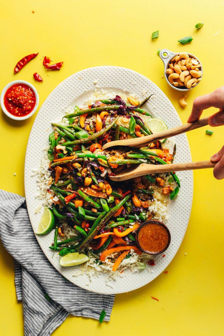 30-Minute Cauliflower Rice Stir-Fry