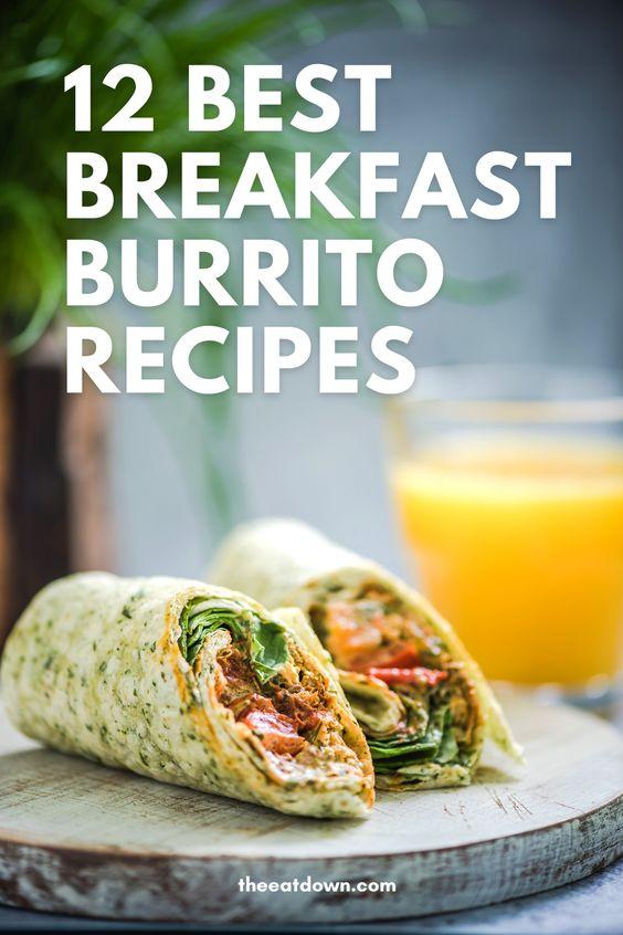 best breakfast burrito recipes pinterest