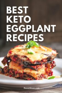 best keto eggplant recipe ideas pinterest