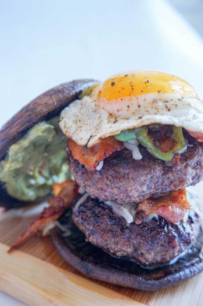 Loaded Jalapeño Burger