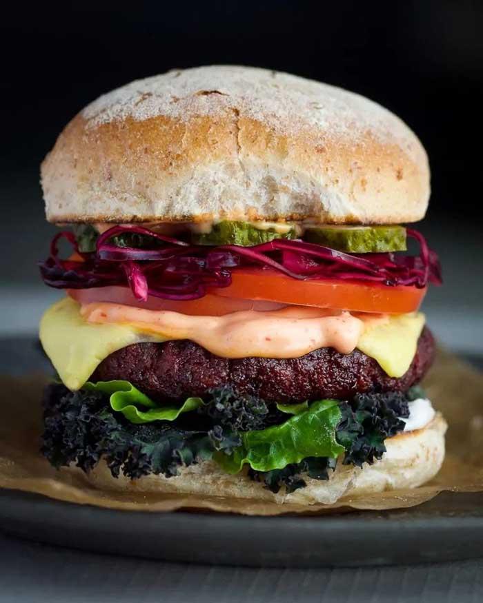 vegan burger 4