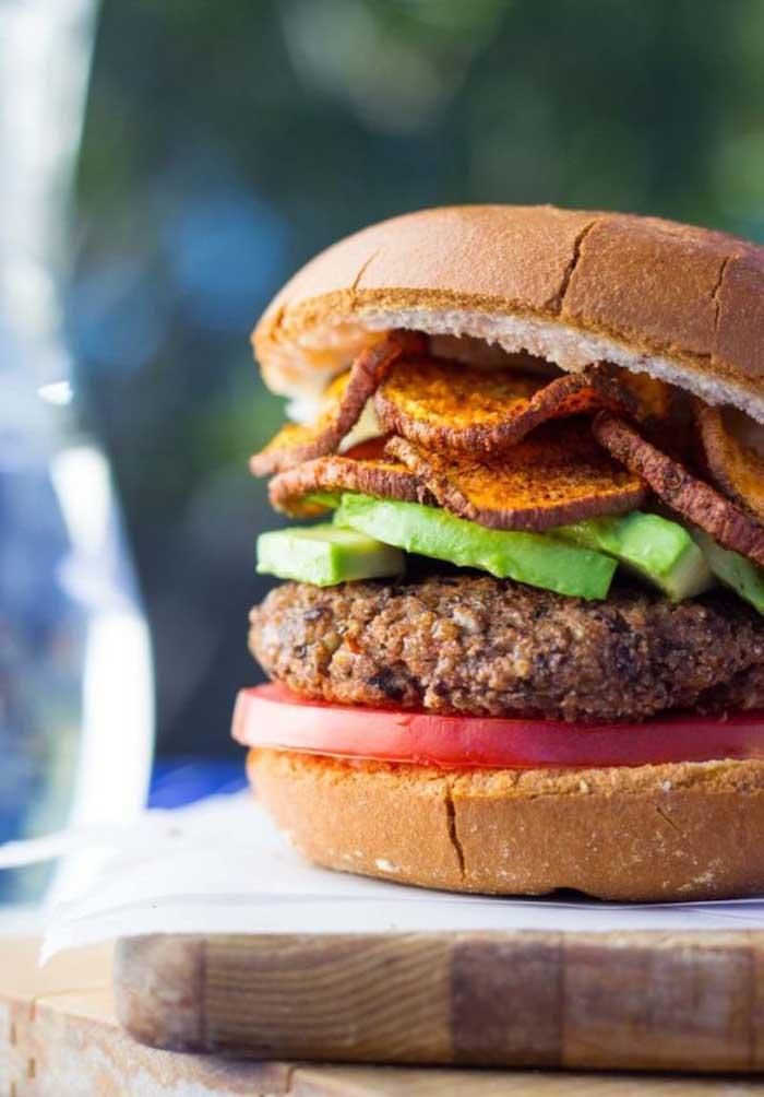 vegan burger 5