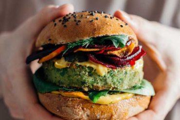 vegan burger 6