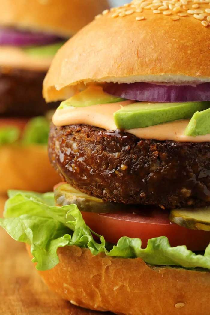 vegan burger 9