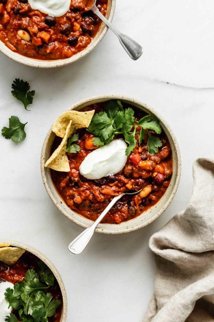 Instant Pot Vegan Chili