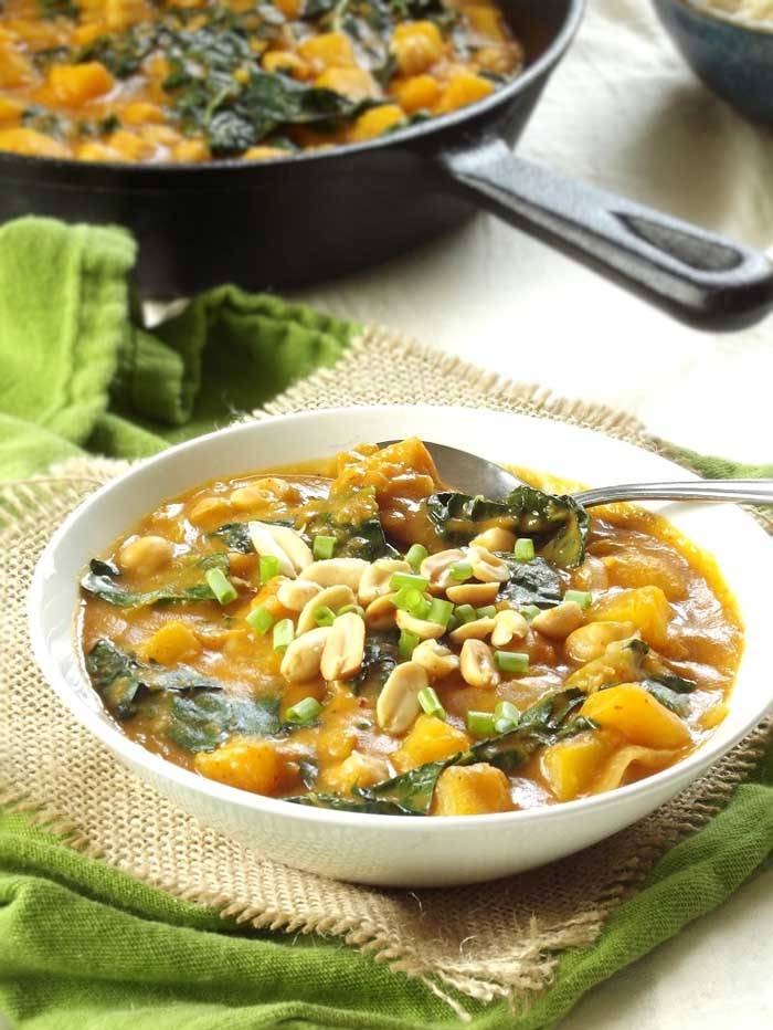 Butternut Squash and Chickpea Massaman Curry